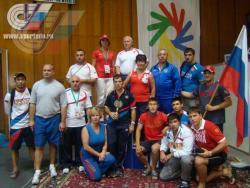 Комплексная научная группа ГЦОЛИФК провела обследования сборных команд России по борьбе
