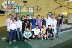 В НИИ спорта провели обследование членов сборных команд России по греко-римской и вольной борьбе (спорт глухих)