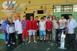 В НИИ спорта провели комплексные обследования членов студенческой сборной команды России по греко-римской и вольной борьбе.