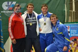 Студенты ГЦОЛИФК в составе сборной России на Чемпионате мира среди студентов по борьбе