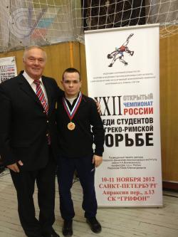 Открытый Чемпионат  России по греко-римской борьбе.