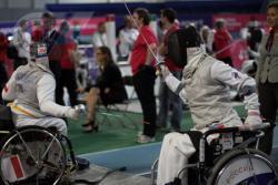 Открытый кубок Москвы по фехтованию на шпагах среди женщин категории А паралимпийской программы